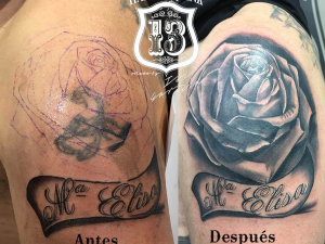 Cover up tattoo Hamahiru 13 Ink Tattoo & Piercing