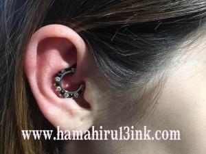 Piercing Daith Hamahiru 13 nk.