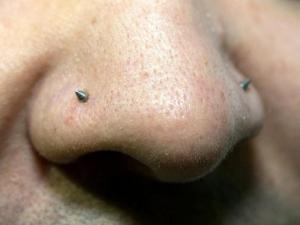 Piercing nariz