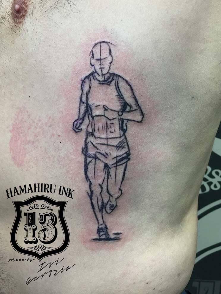Corredor tattoo Hamahiru 13 Ink Tattoo & Piercing