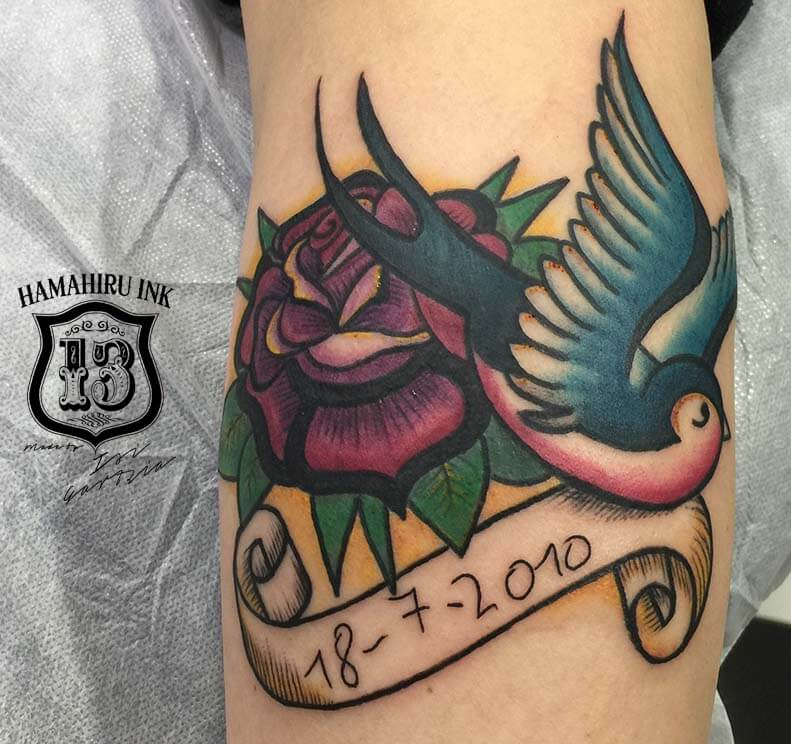 Old School Tattoo Hamahiru 13 Ink Tattoo & Piercing