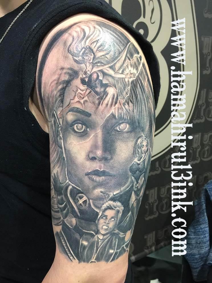 Storm tattoo Hamahiru 13 Ink Tattoo & Piercing