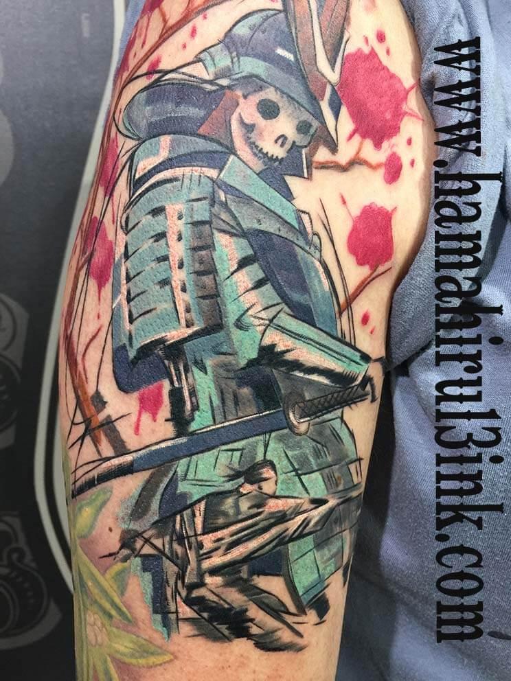 Tattoo Samurai Hamahiru 13 Ink Tattoo & Piercing