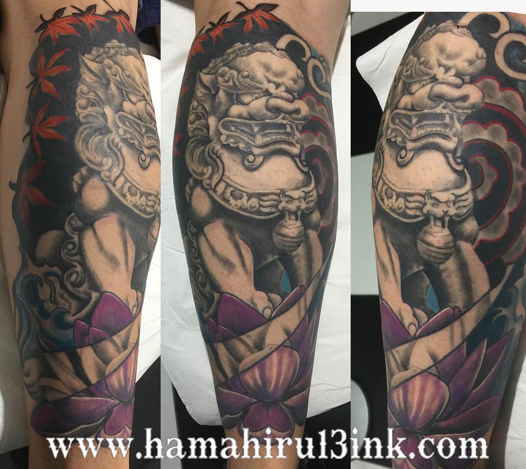 Tatuaje Perro Fu Hamahiru 13 Ink Tattoo & Piercing