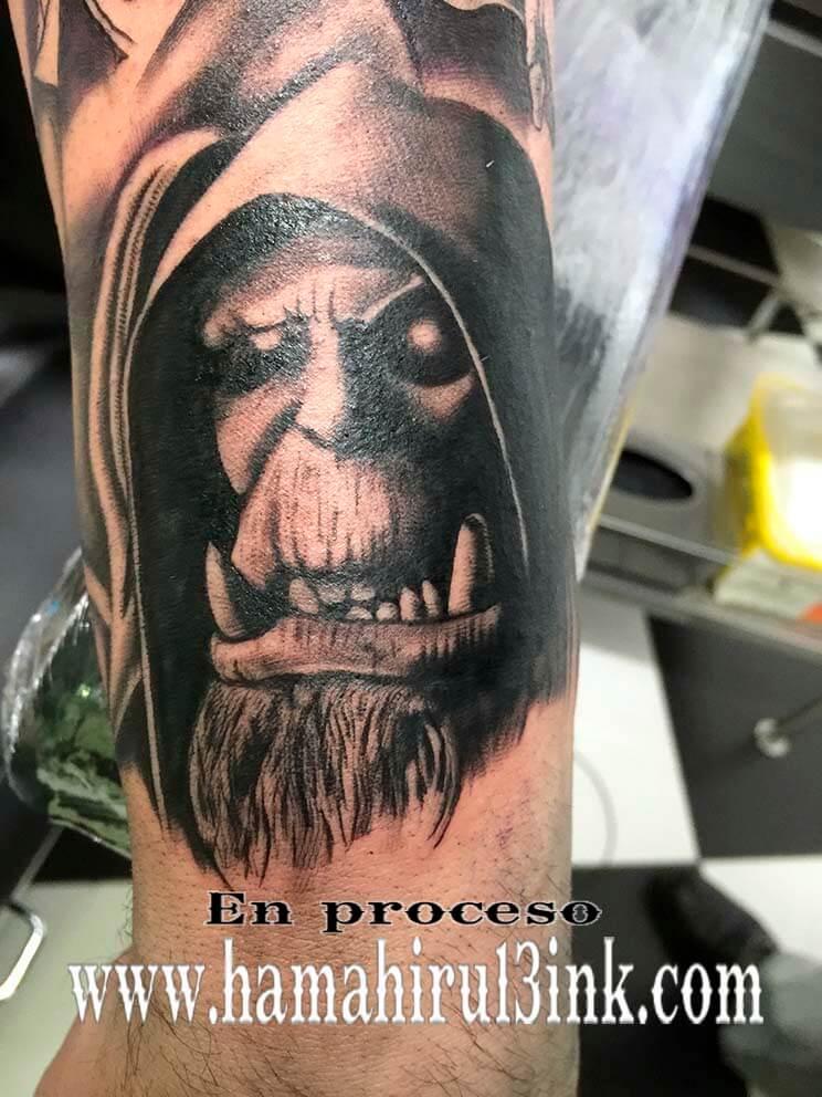 Tatuaje War Craft Hamahiru 13 Ink Tattoo & Piercing