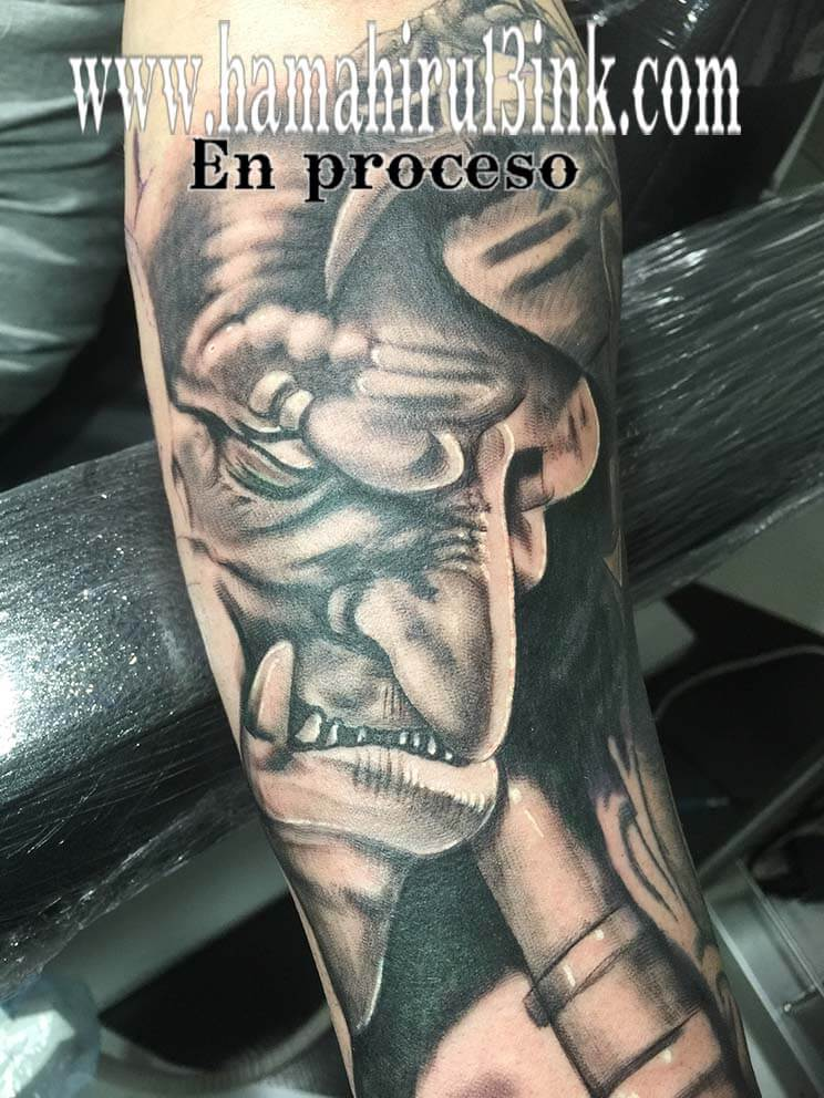 Tatuaje Warcraft Hamahiru 13 Ink Tattoo & Piercing