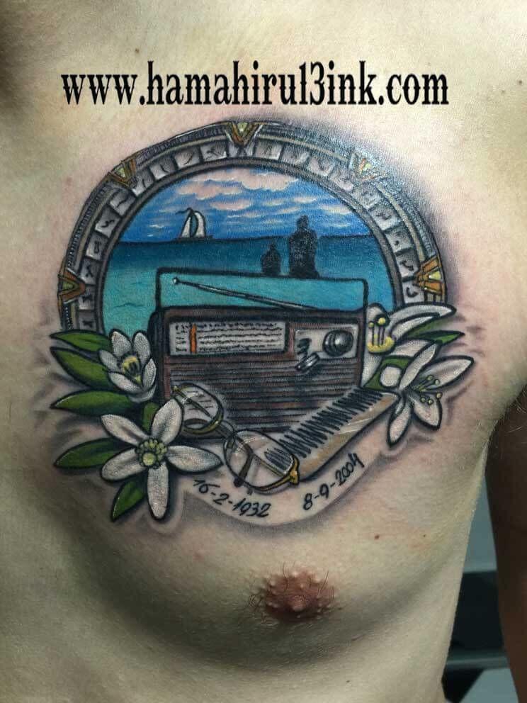 Tatuaje a color Hamahiru 13 Ik Tattoo & Piercing