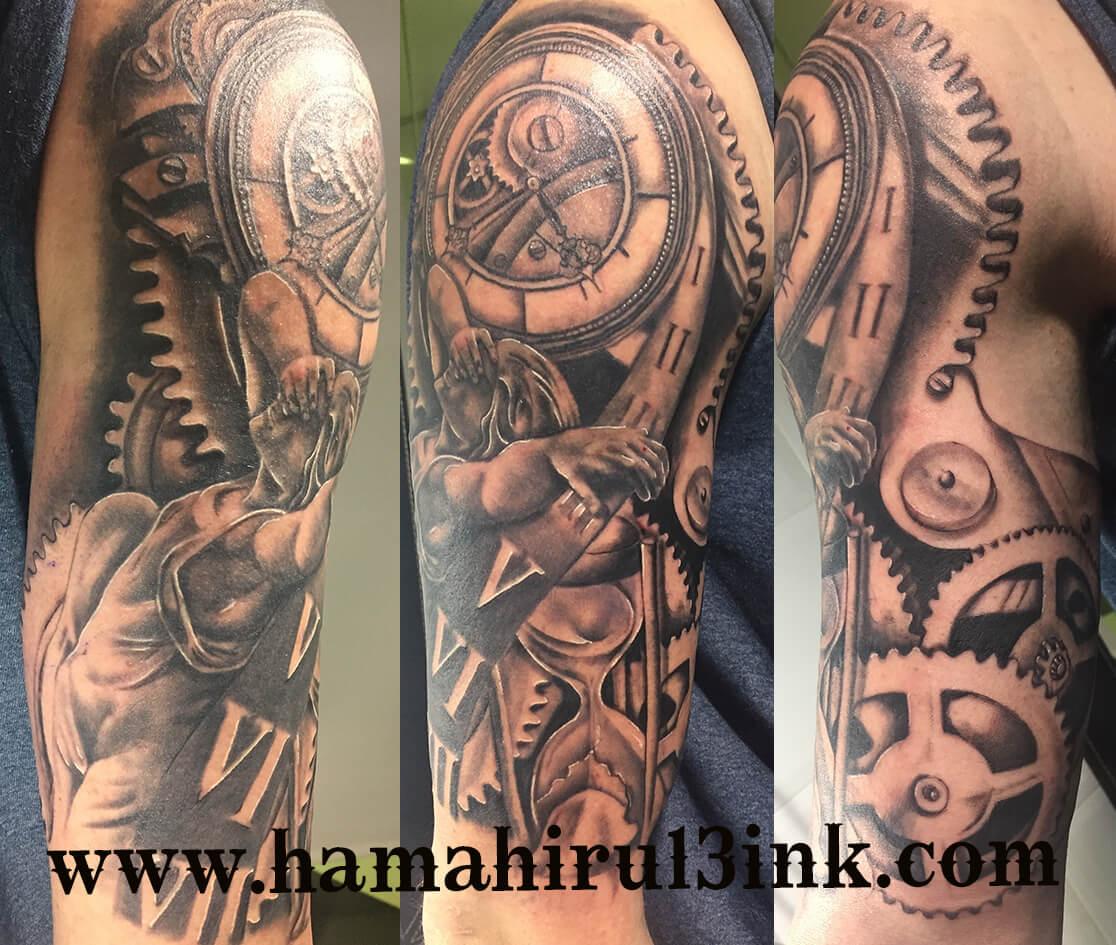 Tatuaje angel Hamahiru 13 Ink Tattoo & Piercing