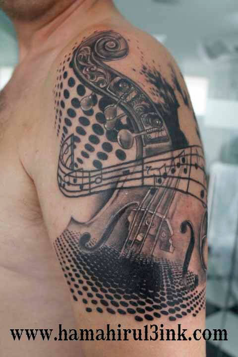 Tatuaje contrabajo Hamahiru 13 Ink Tattoo & Piercing.jpg