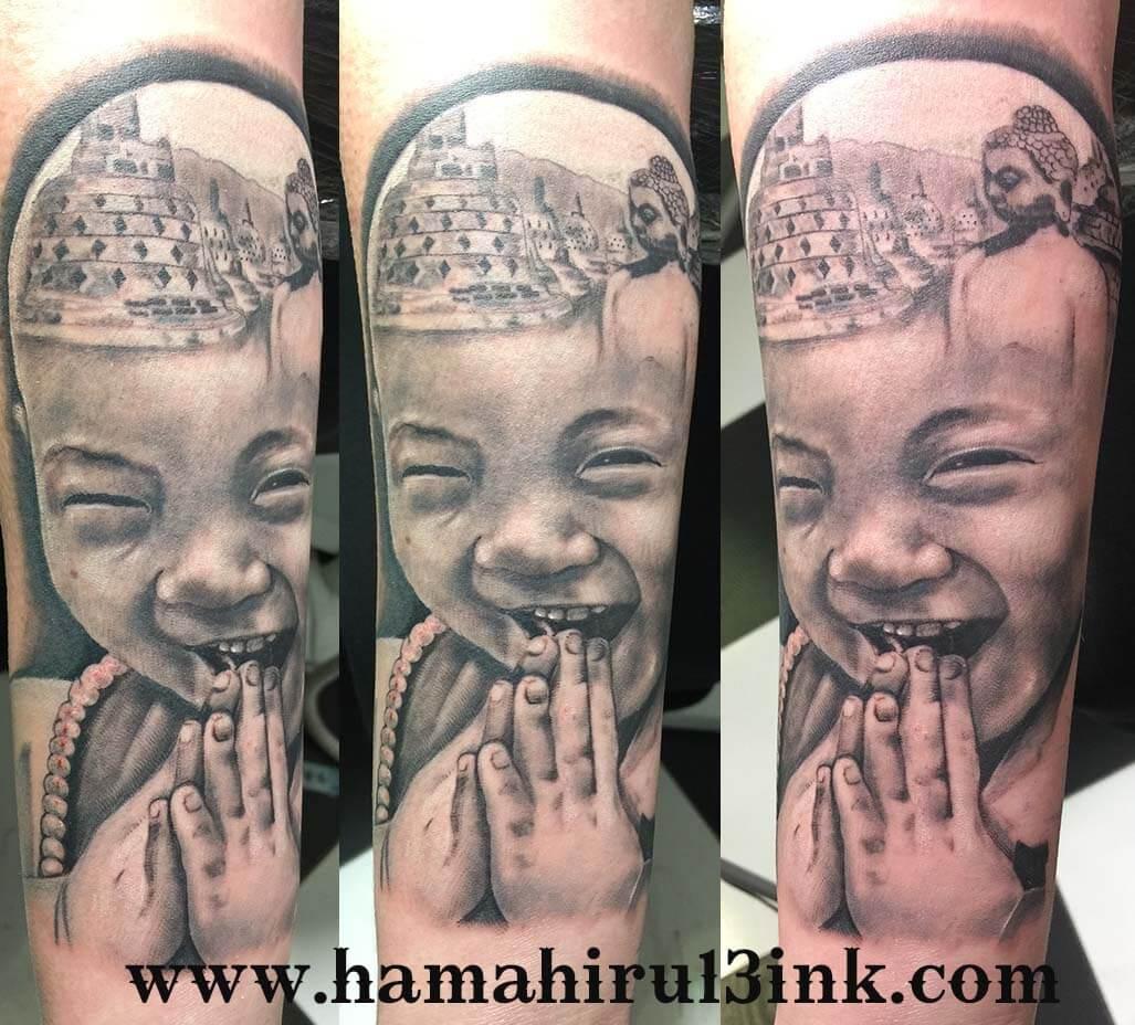 Tatuaje indonesia Hamahiru 13 Ink Tattoo & Piercing