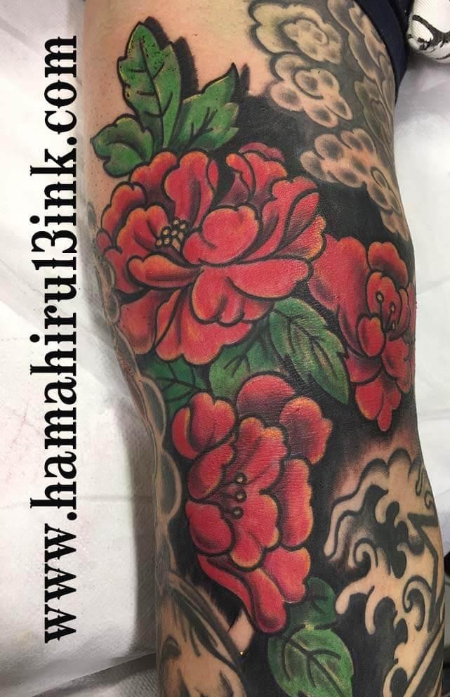 Tatuaje japones Hamahiru 13 Ink Tattoo & Piercing