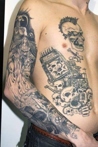 Tattoo Calaveras