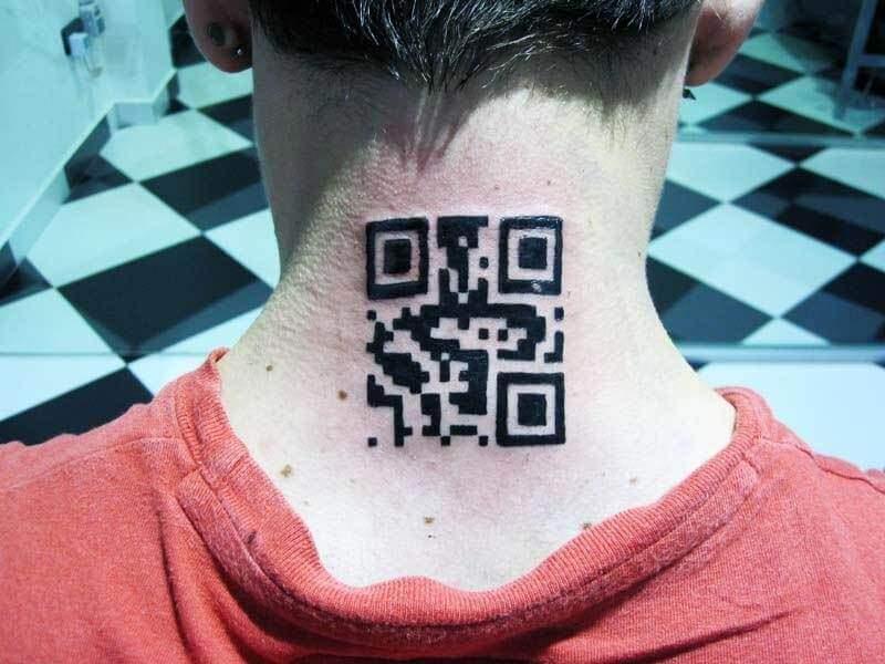 Tattoo Código QR