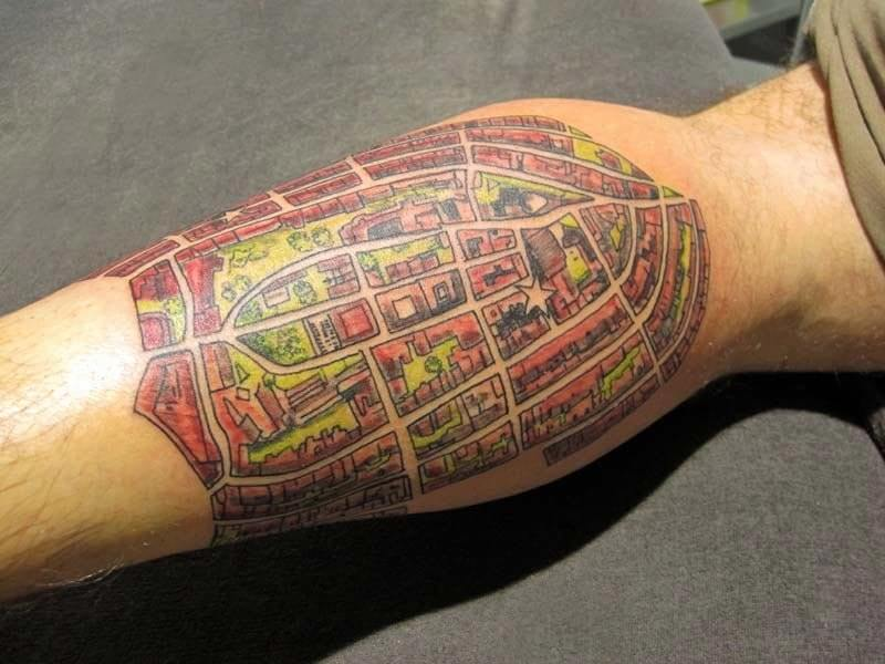 Tattoo Pierna Hombre Hamahiru 13 Ink Tattoo & Piercing