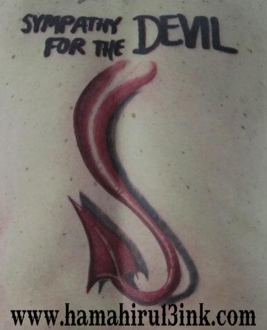 Tatuaje Espalda Color Hamahiru 13 Ink Tattoo & Piercing