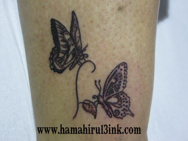 Tatuajes Vitoria mariposas Hamahiru 13 Ink Tattoo & Piercing