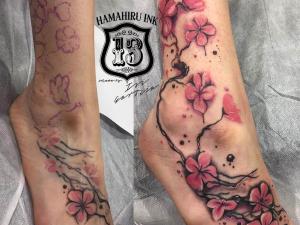 Actualizacion tatuaje Hamahiru 13 Ink Tattoo & Piercing