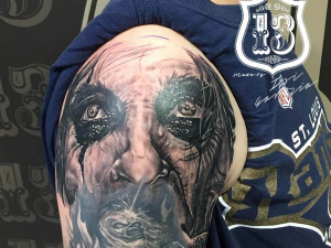 Alice Cooper Eyes Tattoo Hamahiru 13 Ink Tattoo & Piercing