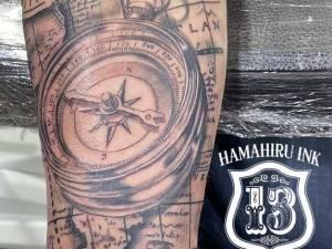 Brujula-Tattoo-Hamahiru-13-Ink-Tattoo-Piercing