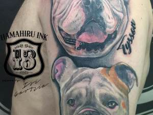 Dogs-Tattoo-Hamahiru-13-Ink-Tattoo-Piercing