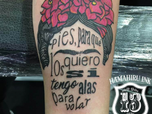 Frida Khalo Tattoo Hamahiru 13 Ink Tattoo & Piercing