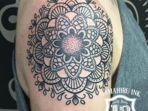 Mandala Tattoo Hamahiru 13 Ink Tattoo & Piercing