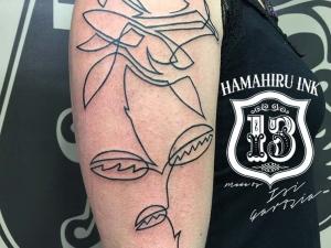Rose Tattoo Hamahiru 13 Ink Tattoo & Piercing