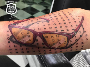 Sunglasses Tattoo Hamahiru 13 Ink Tattoo & Piercing