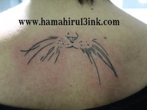 Tatuaje gato Hamahiru 13 Ink Tattoo & Piercing.JPG