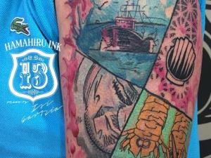 Watercolor Tattoo Hamahiru 13 Ink Tattoo & Piercing