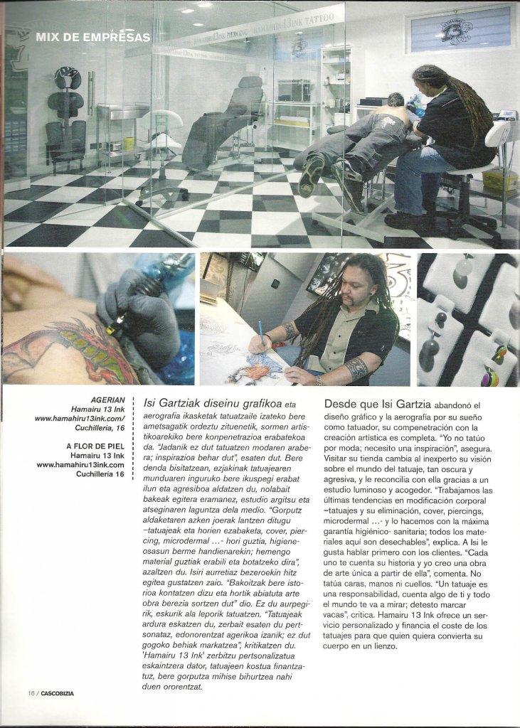 Reportaje en Casco Bizia