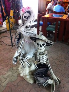 Esqueletos mejicanos.