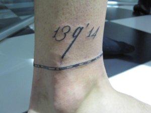 Tatuaje de Javier.