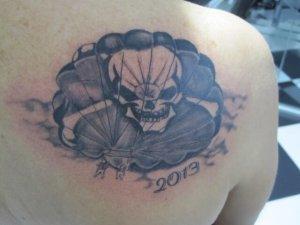 Tatuaje de Rosa.
