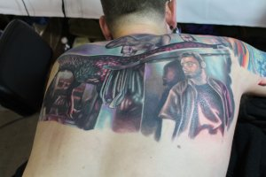 Tattoo de Ryan Gatt.