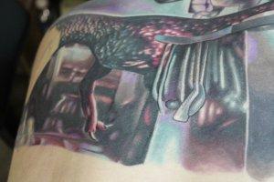 Tatuaje de Ryan Gatt.