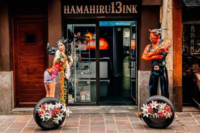 Hamahiru13Ink estudio de tatuajes en Vitoria-Gasteiz